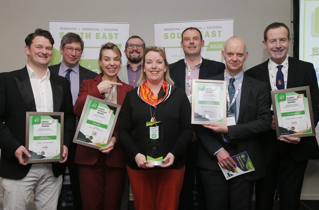 Regional Solar PV Installer of the Year official photo
