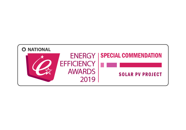 National Special Commendation for Solar PV Project at Meadowhall