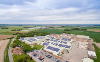 1 MW solar pv array at TH Clements