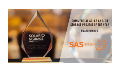 Commercial Solar PV Project of the Year Award