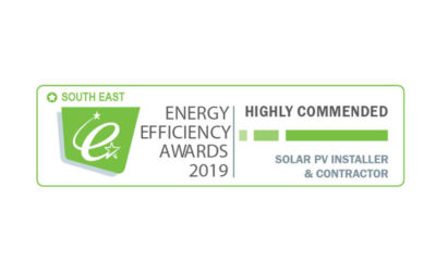 Solar PV Installer of the Year 2019 award – South East
