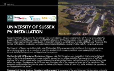 Construction View congratulates SAS Energy and its partners