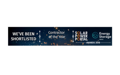 Solar Power Portal Award Finalist for Commercial Rooftop Solar project of the Year