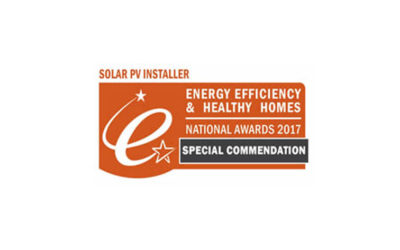 SAS Energy's great work in Solar PV recognised at The 2017 Energy Efficiency Awards