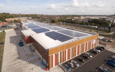 Hammerson plc, Kier Construction + SAS ENERGY Project – Finalist for Large Project Award