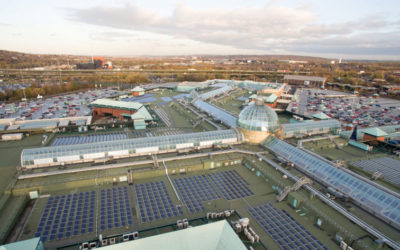 Meadowhall the largest solar PV installation on a UK shopping centre
