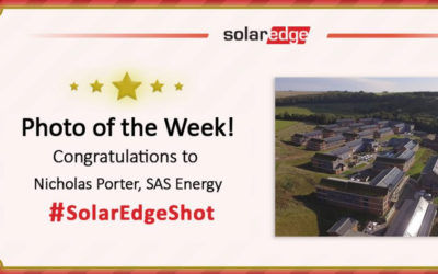 SAS ENERGY is a winner of SolarEdge's photographic competition