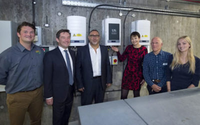 Largest Solar PV Installation in UKs higher education is switched on