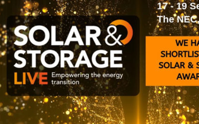 Commercial Project of the Year 2019 award – Solar & Storage LIVE Awards